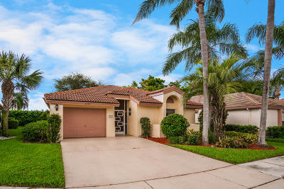 Boynton Beach Single Family Home For Sale: 6149 Bay Isles Drive
