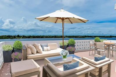 Palm Beach Condo For Sale: 2840 S Ocean Boulevard #604 & 60