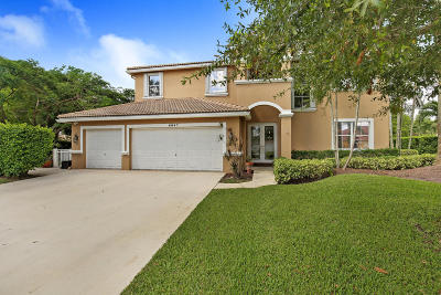 Lake Worth Single Family Home For Sale: 6847 Lake Nona Place
