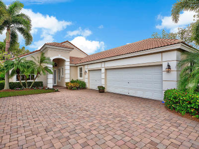 West Palm Beach Single Family Home For Sale: 8185 Spyglass Drive