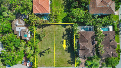 Palm Beach County Residential Lots & Land For Sale: 750 Palm Avenue W #Lot 71