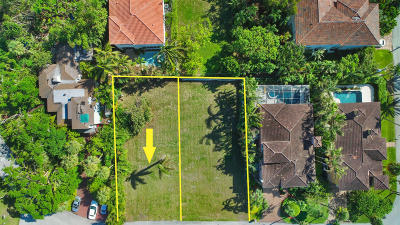 Palm Beach County Residential Lots & Land For Sale: 750 Palm Avenue W #Lot 72