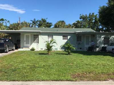 West Palm Beach Multi Family Home For Sale: 9192 Sunrise Drive