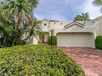 Jupiter Single Family Home For Sale: 16656 Narrows Drive