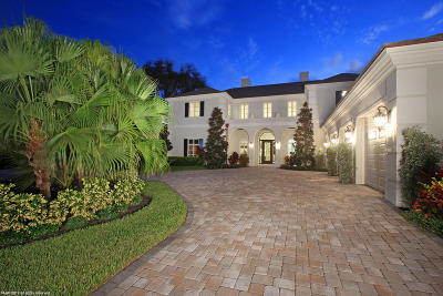 Palm Beach Gardens FL Single Family Home For Sale: $3,750,000