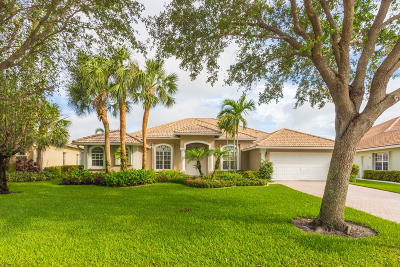 Jupiter Single Family Home For Sale: 1118 Lakeshore Drive