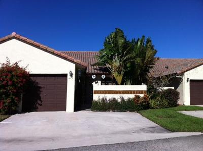 Boca Raton Single Family Home For Sale: 423 Buttonwood Place #B-24