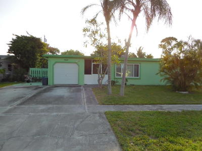 West Palm Beach Single Family Home For Sale: 2343 Daphne Drive