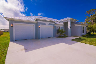 Port Saint Lucie Single Family Home For Sale: 5420 NW Nassau Court