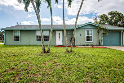 Boynton Beach Single Family Home For Sale: 5154 St John Avenue S
