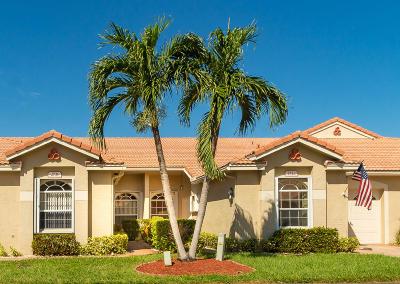 Boynton Beach Single Family Home For Sale: 2731 Quaking Leaf Lane