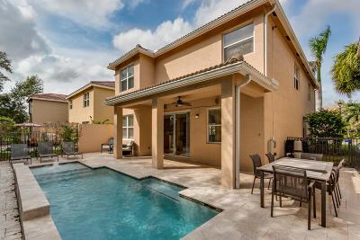 Boynton Beach Single Family Home For Sale: 7856 Red Mahogany Road