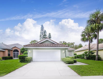 Jupiter Single Family Home For Sale: 196 Hampton Circle