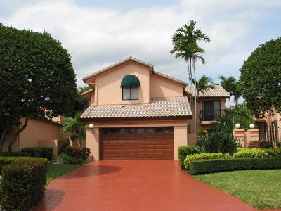 Boca Raton Single Family Home For Sale: 6502 Via Rosa