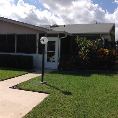 West Palm Beach Single Family Home Contingent: 3371 Americo Drive