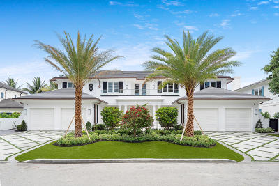 Boca Raton Single Family Home Sold: 1160 Royal Palm Way