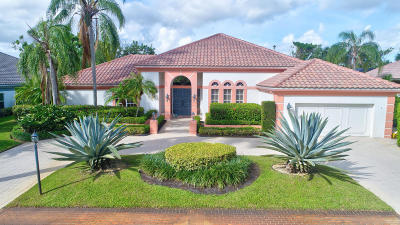 Boca Raton Single Family Home For Sale: 17288 Northway Circle