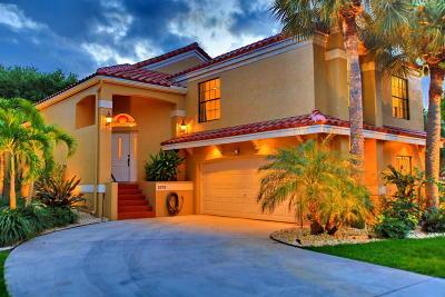 Palm Beach Gardens FL Single Family Home For Sale: $515,000