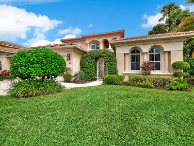 Palm Beach Gardens Single Family Home For Sale: 100 Abondance Drive