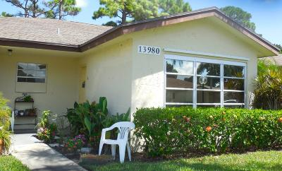Delray Beach Single Family Home For Sale: 13980 Nesting Way #B