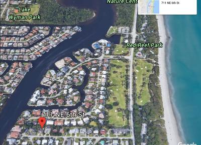 Palm Beach County Single Family Home For Sale: 711 NE 6th Street