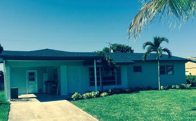 Boynton Beach Single Family Home For Sale: 121 SE 30th Avenue