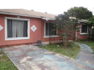 Lake Worth Single Family Home For Sale: 1220 19th Avenue