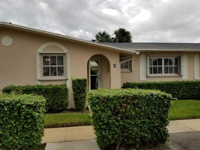 West Palm Beach Condo For Sale: 2784 E Dudley Drive E #Apt E