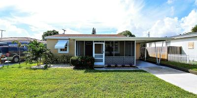 West Palm Beach Single Family Home For Sale: 818 Kaye Street