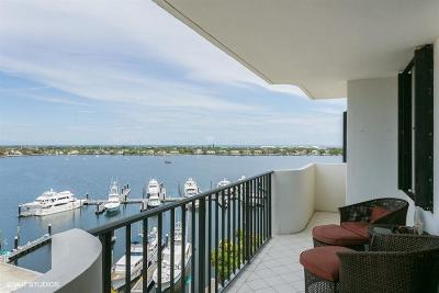 North Palm Beach Condo For Sale: 1200 Marine Way #801