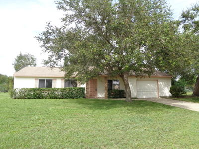 Port Saint Lucie Single Family Home For Sale: 679 SW Everett Court