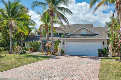 Delray Beach Single Family Home For Sale: 1440 Lake Drive