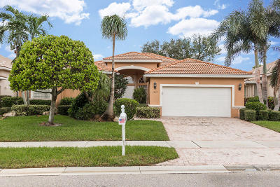 Delray Beach Single Family Home Contingent: 7429 Viale Michelangelo