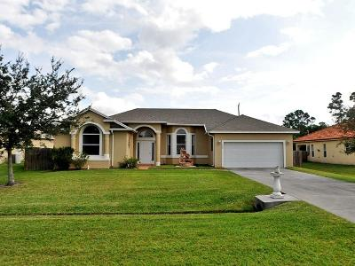 Port Saint Lucie Single Family Home For Sale: 323 NW Bayshore Boulevard