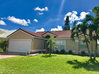 West Palm Beach Single Family Home For Sale: 4917 Broadstone Circle