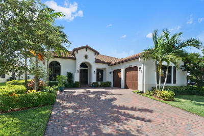 Lake Worth Single Family Home For Sale: 6326 Grebe Court