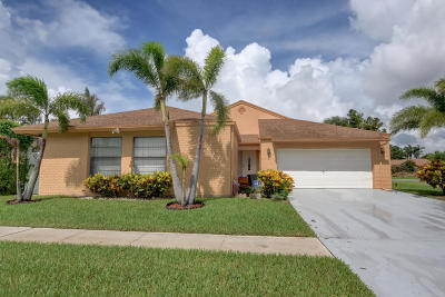 Boca Raton Single Family Home For Sale: 11455 Whisper Sound Drive