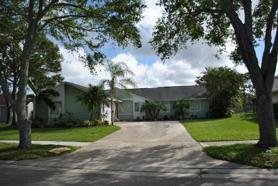 Jupiter Single Family Home For Sale: 18352 Flagship Circle