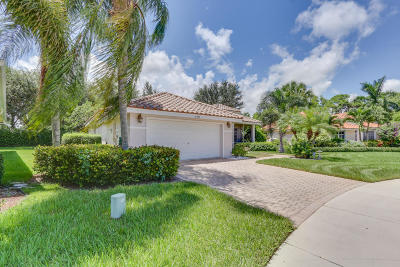 Boynton Beach Single Family Home For Sale: 6646 Jog Palm Drive