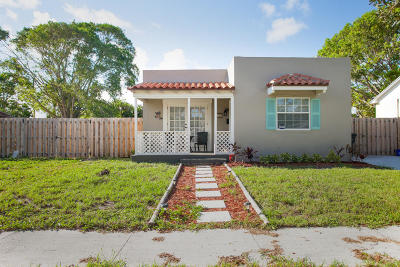 West Palm Beach Single Family Home For Sale: 728 Macy Street