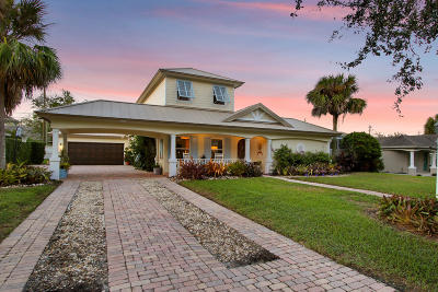 Hobe Sound Single Family Home For Sale: 8935 SE Mars Street