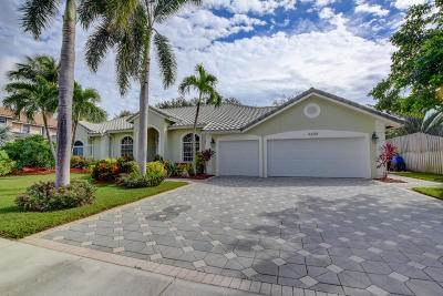 Delray Beach Single Family Home For Sale: 1345 W Barwick Ranch Circle