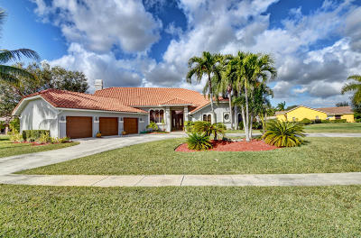Boca Raton Single Family Home For Sale: 21503 Sweetwater Lane S