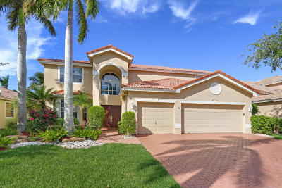 Boca Raton Single Family Home For Sale: 12914 Hyland Circle