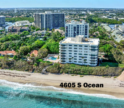 Highland Beach FL Condo For Sale: $1,095,000