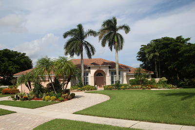 Boynton Beach Single Family Home For Sale: 11250 Golfridge Lane