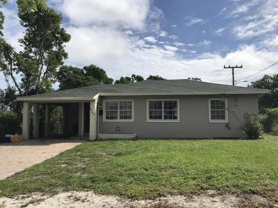 West Palm Beach Single Family Home For Sale: 4102 Terrace Drive