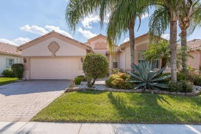 Lake Worth Single Family Home For Sale: 9542 Vercelli Street