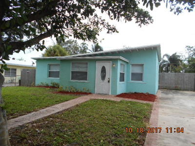 Boynton Beach FL Single Family Home For Sale: $194,900