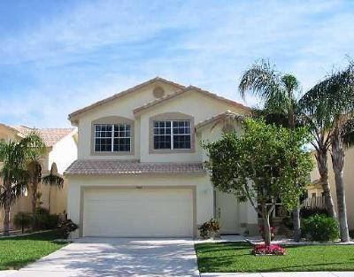 Boynton Beach Single Family Home For Sale: 7507 Colony Palm Drive